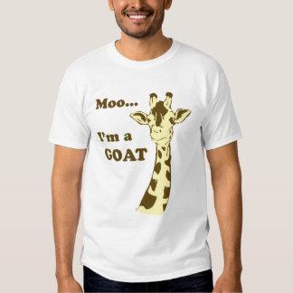 Moo...I'm a GOAT Tee Shirt