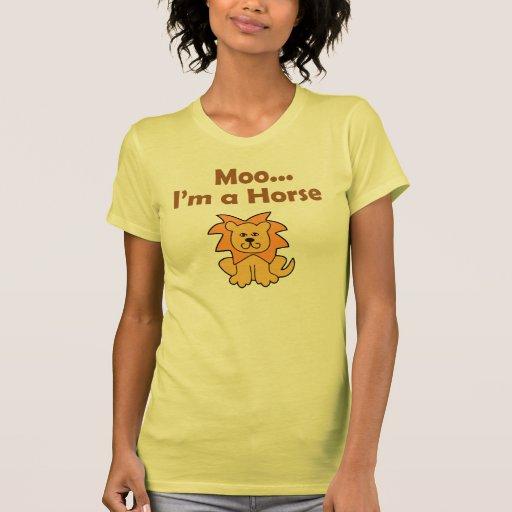 moo i'm a horse t-shirt