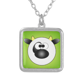 Moo Moo Cow Ball Necklace