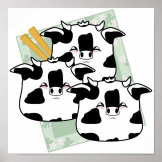 Moo Moo Dumplings Platter Poster