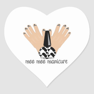 Moo Moo Manicure Stickers