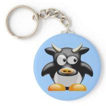 Moo Moo the Cow Keychain