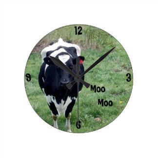 Moo Moo Wall Clock