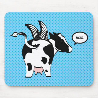 MOO MOUSE PAD