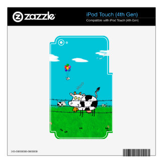 Moo Skins For iPod Touch 4G