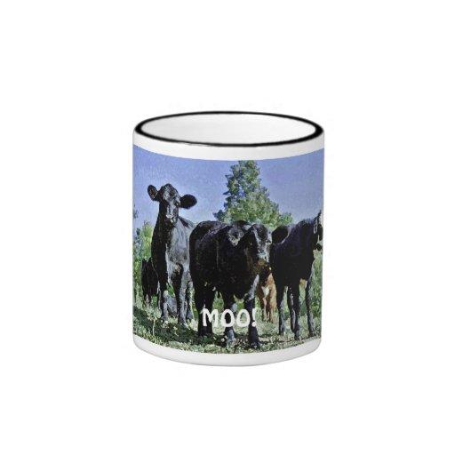¡MOO! Taza de la vaca