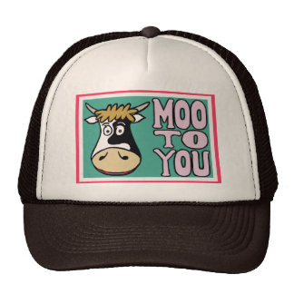 MOO TO YOU (hat)
