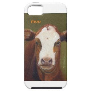 MOO una caja del teléfono para su iphone5/5S Funda Para iPhone 5 Tough