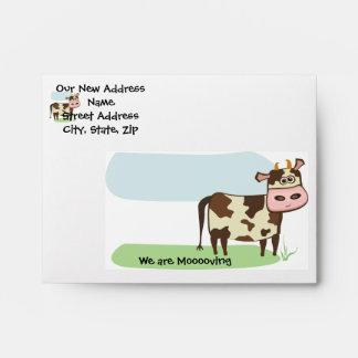 Moo-ving Envelopes