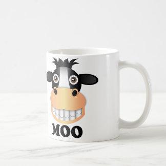 Moo - White 11 oz Classic White Mug Coffee Mug