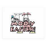 Moo-y Easter T-shirts and Gifts Post Cards