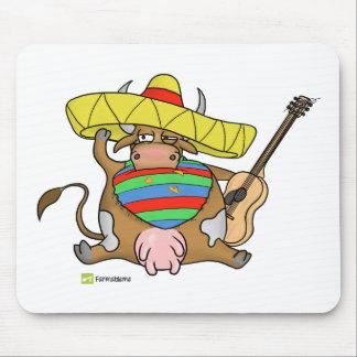 ¡Moochacho la Mexi-vaca! Alfombrilla De Raton
