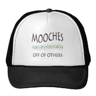 Mooches off of others mesh hats