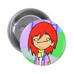 Mooching Hobo icon Pinback Buttons