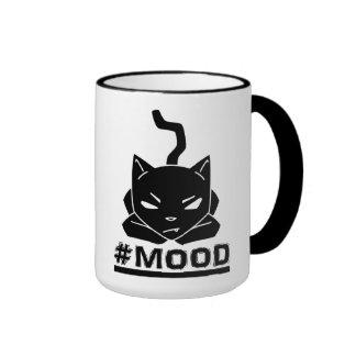 #Mood Cat Black - Mugs