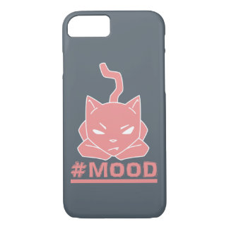 #Mood Cat Pink - Phone Case
