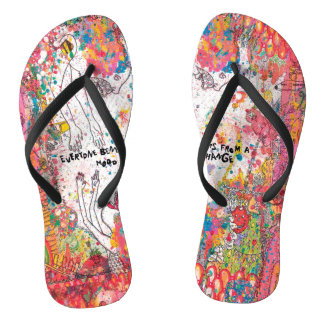 Mood Change Contemporary Design Flip Flops