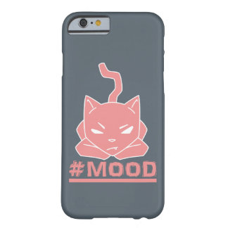 #Mood Pink Cat Illustration Barely There iPhone 6 Case