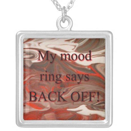 Mood Ring Pendant