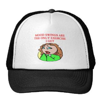 MOOD swing joke Mesh Hat