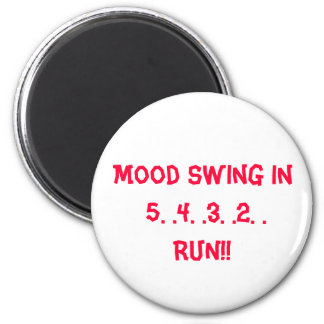Mood Swing 2 Inch Round Magnet