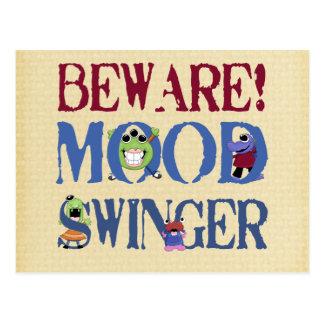 Mood Swinger Postcard