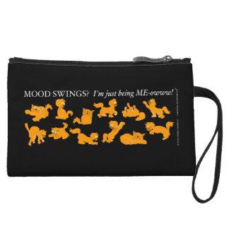 Mood Swings? Black Mini Clutch