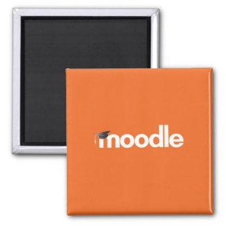 Moodle Magnet: Orange