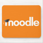 """Moodle Mouse Pad - Orange<br><div class=""""desc"""">Traditional flat design, the Moodle Mouse Pad adds the perfect touch of elegance to any home, office or classroom. Suitable for PC or Mac, this Moodle Mouse Pad features a bright orange design. By purchasing this product, you are supporting the Moodle Project. Royalities from this product purchased through Zazzle are...</div>"""