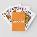 "Moodle Playing Cards: Orange Playing Cards<br><div class=""desc"">Offline gaming with these simple to use Moodle playing cards. By purchasing this product, you are supporting the Moodle Project. Royalities from this product purchased through Zazzle are proceeds to the road map and development of the Moodle learning platform. To find out about supporting Moodle in other ways, visit our...</div>"