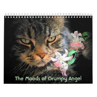 Moods of a Grumpy Angel Wall Calendars