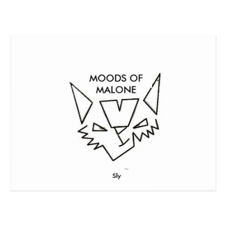 MOODS OF MALONE, Sly Postcard