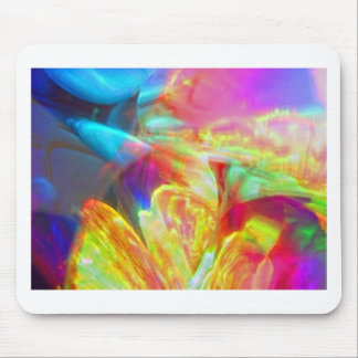 Moods of Motion Colorful Abstract Mouse Pads