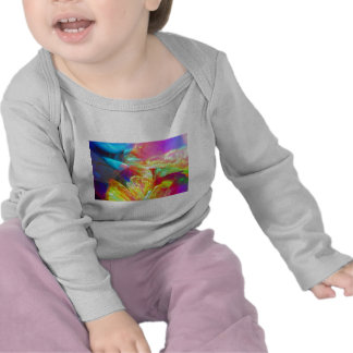 Moods of Motion Colorful Abstract Tees