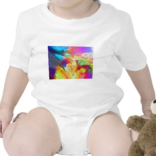 Moods of Motion Colorful Abstract Tshirt