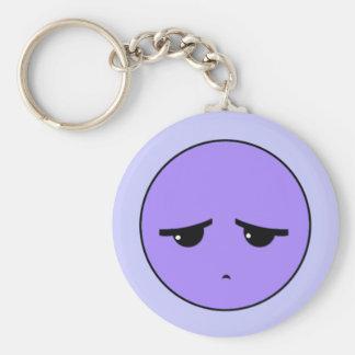 Moodswings: Deprimido Llavero Redondo Tipo Pin
