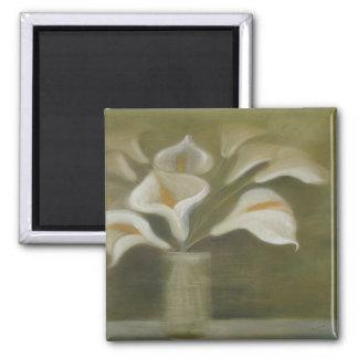 Moody Arum Calla's In A Vase Magnet