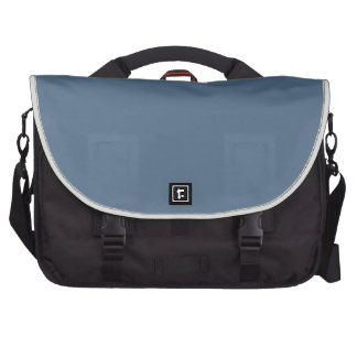 Moody Blue Background. Chic Fashion Color Trends Bags For Laptop