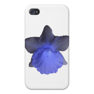 Moody Blue Dripping Daffodil iPhone 4/4S Cover