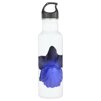 Moody Blue Dripping Daffodil Stainless Steel Water Bottle