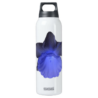 Moody Blue Dripping Daffodil Thermos Bottle