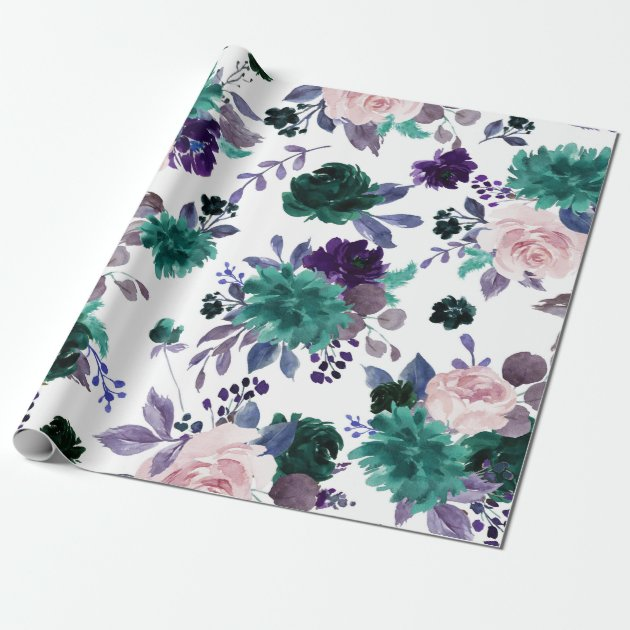 Wrapping Paper 2 Sheets Quality Paper 1 x Gift Tag Abstract