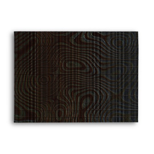 Moody Dark Abstract Pattern Envelope