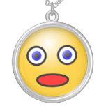Moody Face Cartoon Necklace