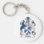 Moody Family Crest Keychains