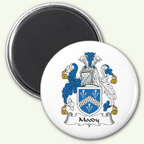 Moody Family Crest Magnet