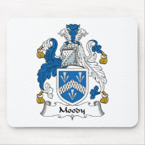 Moody Family Crest Mousepad