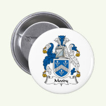 Moody Family Crest Button