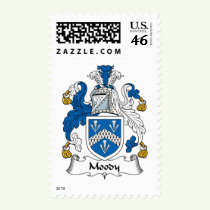 Moody Family Crest Stamps