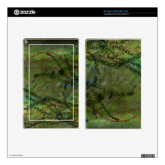 Moody Garden Art Skin Skins For Kindle Fire